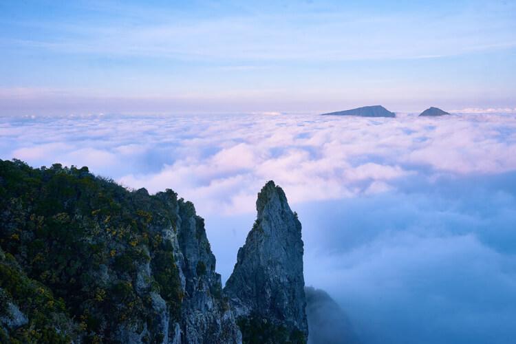 Photo des montagnes de l'île de La Réunion